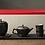 Thumbnail: Japaness Sand Zen Garden Tea Set (Black)