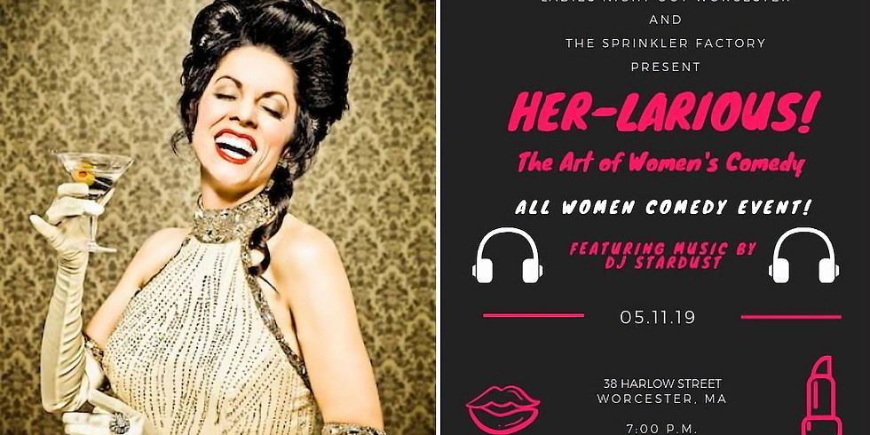 Her-Larious! Comedy with Tea