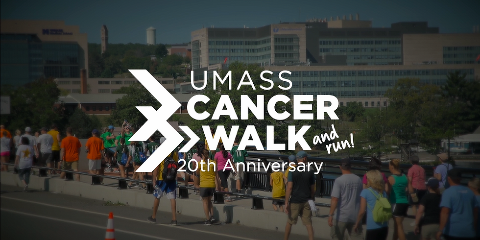 To Support UMASS cancer walk and run 20th anniversary