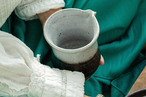 Black Sand Gong Dao Bei (balck & grey even cup)