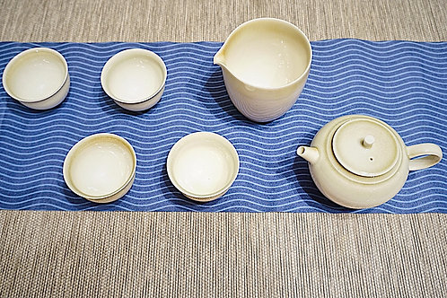 Fine China Tea Set (light green)