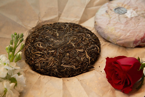 2017 Mengku Ancient Tea Tree Raw Puer Tea Cake 200g
