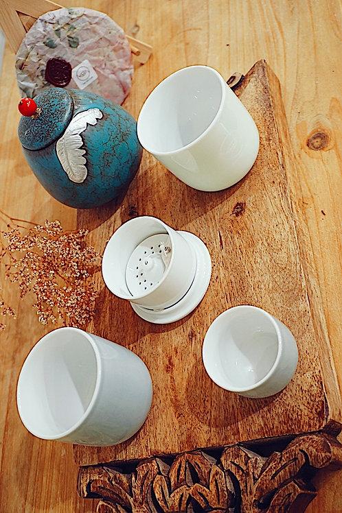 Capsule Travel Tea Set (grey)