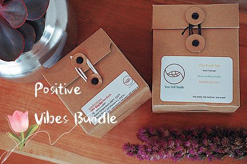Positive Vibes Bundle with Free Tea Soap