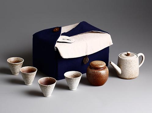 Travel Tea Set (Clay)