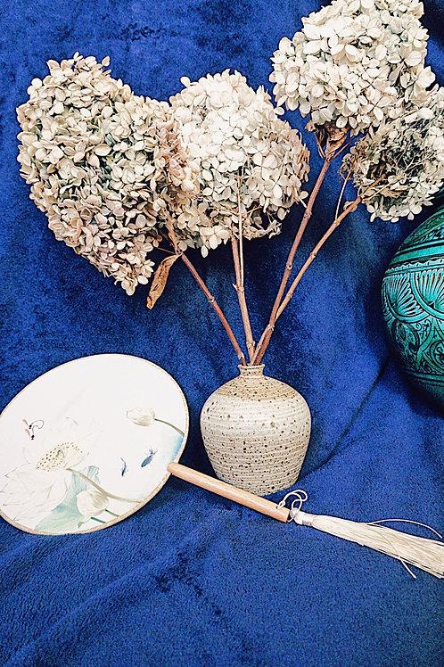 Black Sand Clay Vase