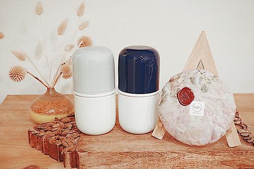 Capsule Travel Tea Set (navy blue)