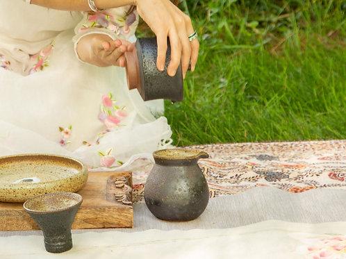 Black Sand Gong Dao Bei (balck even cup)