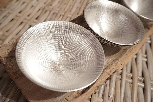 Elegant silver tea cup