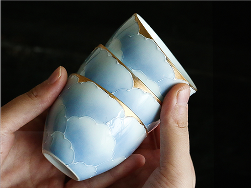 luck cloud cups (a pair)