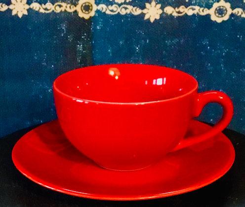Tea Cup (vermillion)