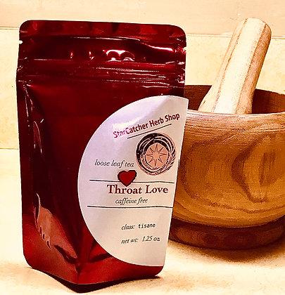 Throat Love Tea (caffeine free)