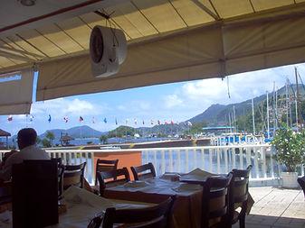 restaurante na marina