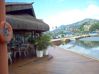 restaurantes na marina