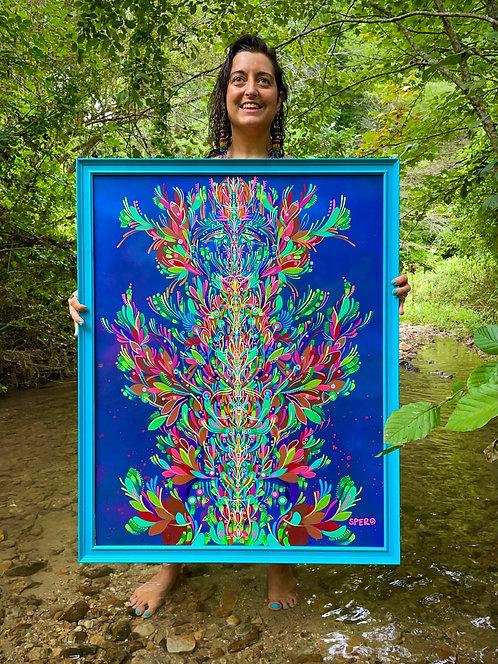 """Hydroflurèlla"" Original Painting"