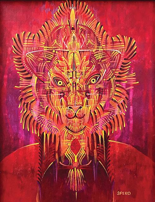 """Lions Gate"" Fine Art Print of Original Acrylic Painting"