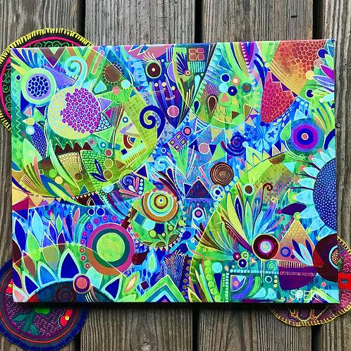 """Lavender Marmalade"" Canvas Print"