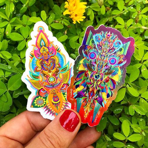 Sticker buddies duo