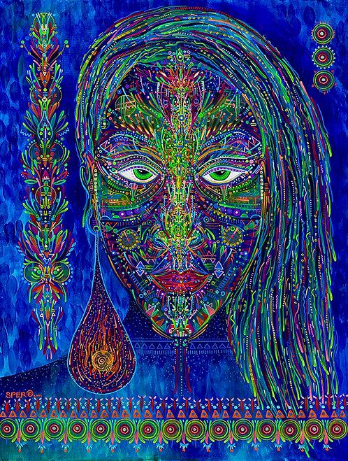 """Visionary Muse"" Original Painting"