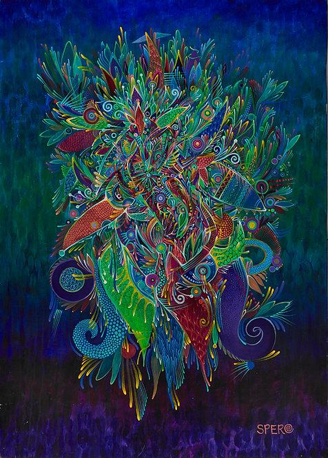 """""""Moyomomoja"""" 12x18 Fine Art Print"""