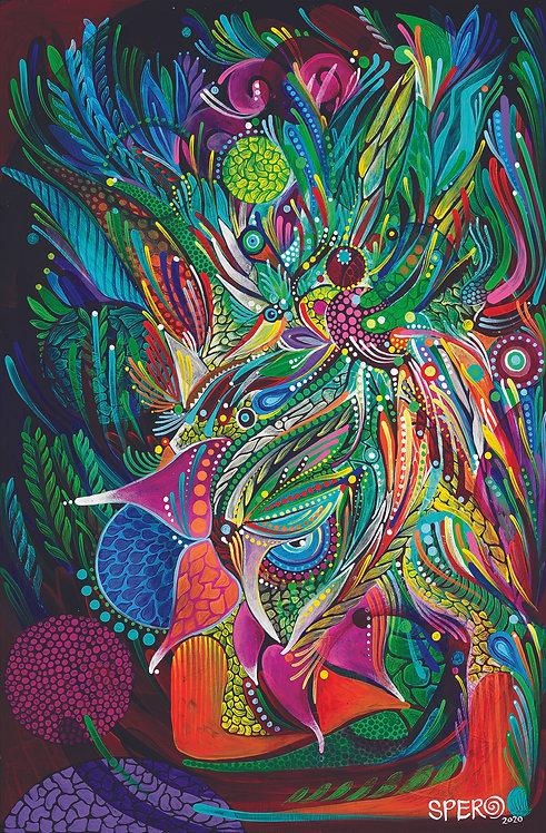 """""""Arecaceae"""" Fine Art Print"""