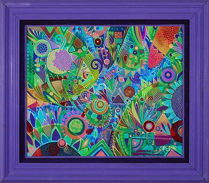 """Lavender Marmalade"" Original Painting"
