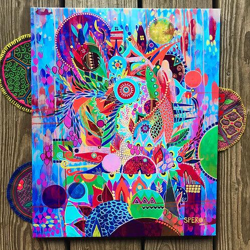 """Ephemeral Alchemical"" Canvas Print"