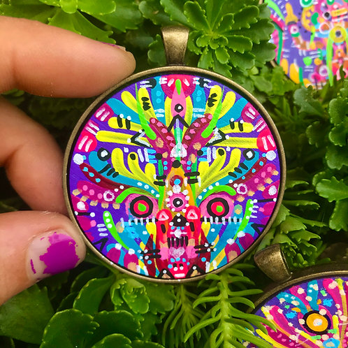 Hand-painted Pendant
