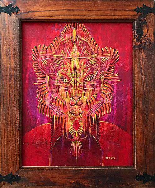 """Lions Gate"" Original Painting"
