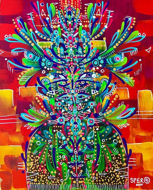 """""""Tarateesu"""" Original Painting"""