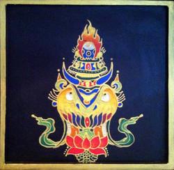 Norbulingka: Tibetan Wood Painting