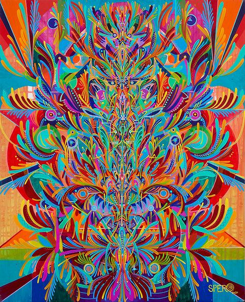 """Microcosmic Reticulum"" Fine Art Print"