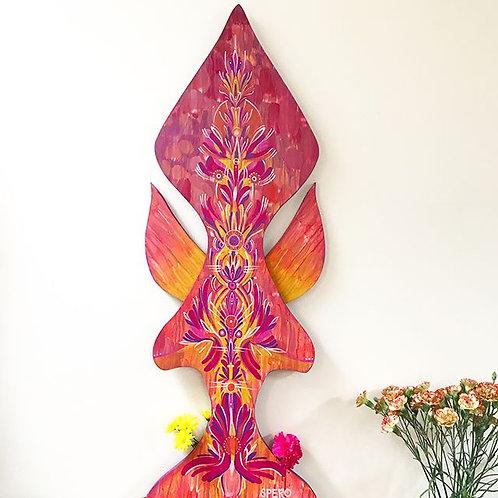 """""""Tulipa Totem"""" Indoor/Outdoor Sculpture"""