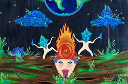 """Raindrops and Fireflies"""