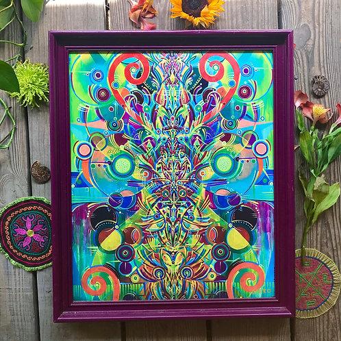 """""""Insides on the Outside"""" Custom Framed Canvas"""