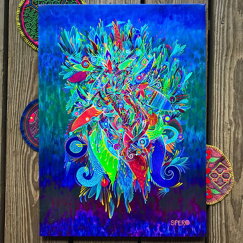 """Moyomomoja"" Canvas Print"