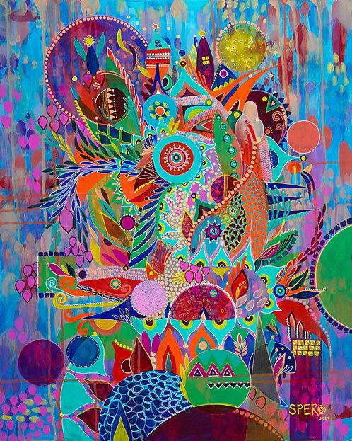 """Ephemeral Alchemical"" Fine Art Print"
