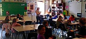 Vermicomposting classroom presentation.