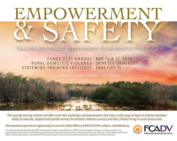 FCADV Summer Institute Announced