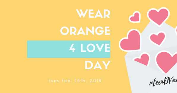 Join us for Orange 4 Love Day