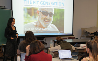 The Fit Generation at UBC