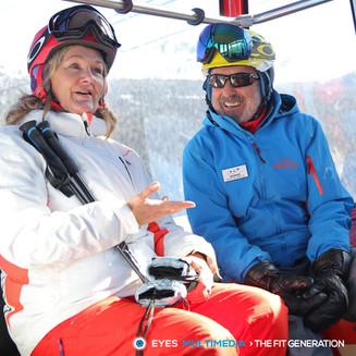 Meet 82-year-old ski instructor George Tjelios-Nicholas