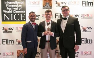 Winner at the Nice International Film Festival in France