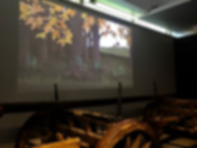 The four seasons animation in the museum of english rural life