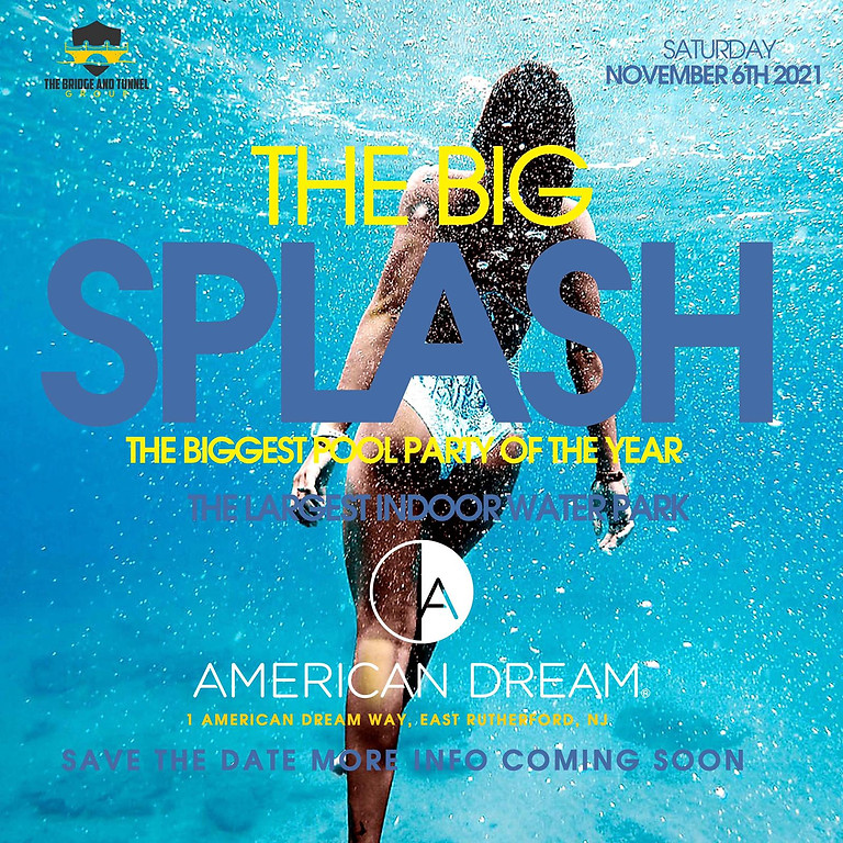 Big Splash Pool party At american dream mall water park