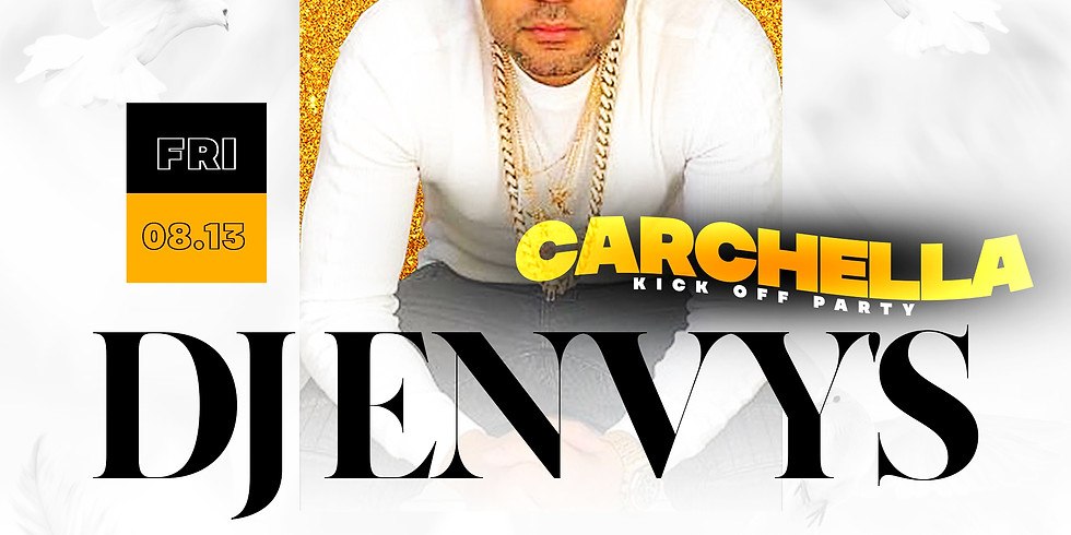 Dj Envy Carchella kick off party At Bungalow Beach