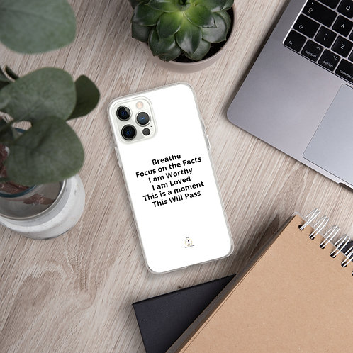 iPhone Case Managing Anxiety