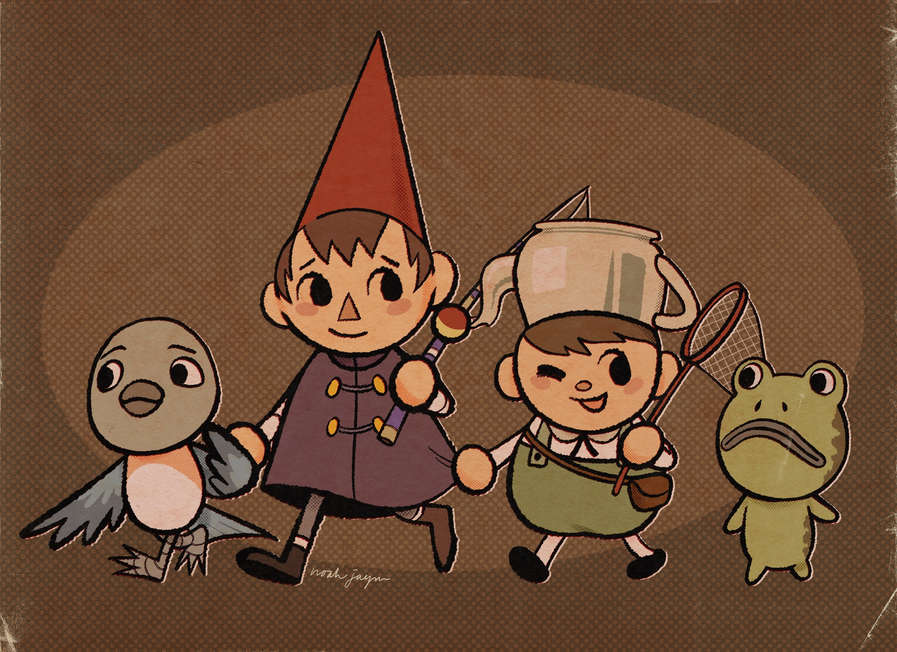 Over the Garden Crossing