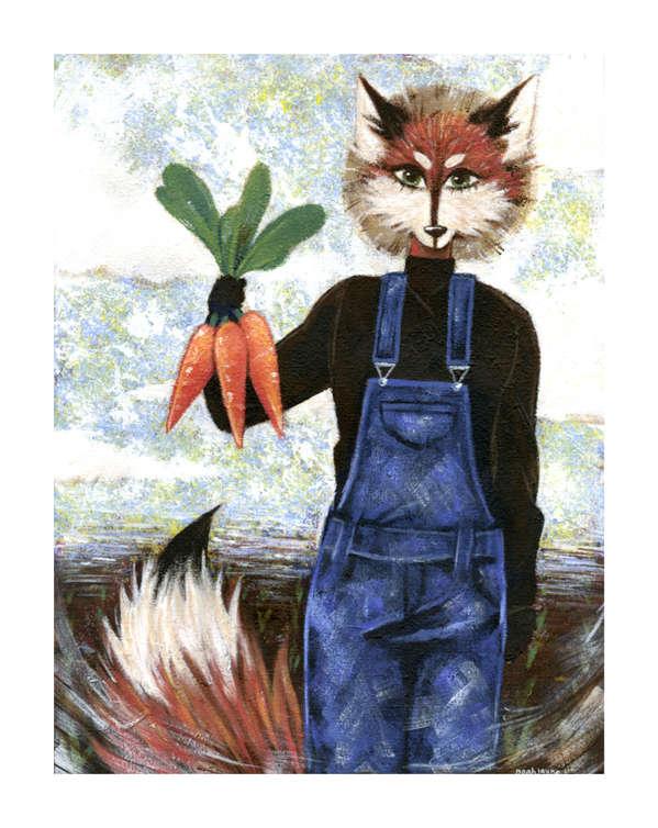 American Gothic Fox