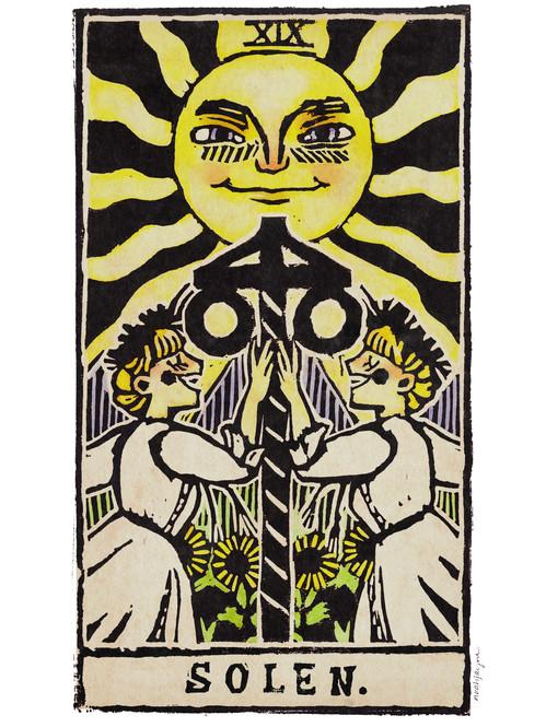 The Midsummer Sun